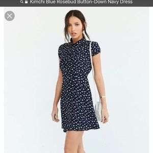 Urban outfitters blue kimchi blue dress